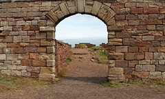 Archway (201/365) (seanbowes94) Tags: old uk sea stone point coast scotland arch view fort stonework lookout historic east archway dunbar overlook viewpoint lothian
