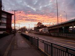 Nubes que Arden (Gabriel Fdez.) Tags: chile sunset cloud de la san paz pedro nubes ocaso