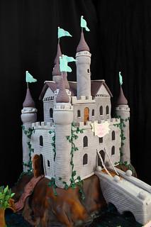 Castle Cake med