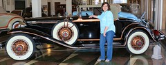 Debby & 1930 Cord L-29 (Bill Jacomet) Tags: the auburn museum debby jacomet 1930 30 cord l29 worldcars
