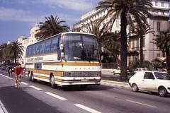 JHM-1979-0709 - France, Nice, autocar Setra (jhm0284) Tags: france nice 06nice niceam alpesmaritimes