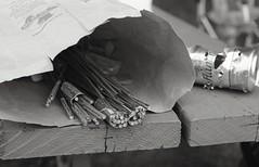 Bottle rockets (falseverdict) Tags: summer blackandwhite bw film analog 35mm fireworks michigan d76 fourthofjuly fujifilm canonae1 2014 coldwater selfdeveloped bottlerockets fujineopanacros branchcounty fd50mm18 believeinfilm laurenpaljusaj