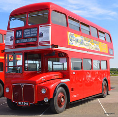 RM 349 at North Weald (colinfpickett) Tags: old bus famous lt rm oldbus aec vintagebus northweald classicbus
