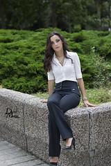 Diana Fernandez 16_1 HD (David M. Sanchez) Tags: madrid espaa mujer chica centro diana verano junio sesion joven elegante azca 2014 ejecutiva
