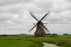 Friesland juli 2014 (174) Huinsermolen (rspeur) Tags: countryside mills