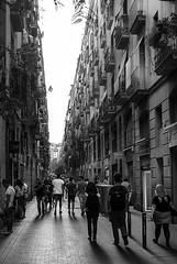 Altstadt Barcelona (Thomas Bechtle Fotografie) Tags: barcelona street nikon sommer urlaub altstadt schwarzundweis