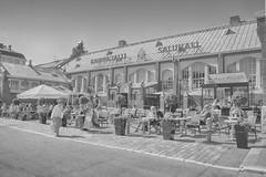 Kauppahalli - Saluhall (Jori Samonen) Tags: white black finland hall high helsinki key market sony alpha 3000 kauppahalli hietalahti ilce saluhall 3000k ilce3000 ilce3000k