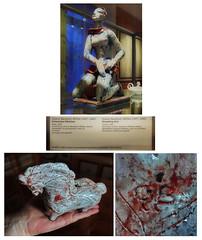 """The Art and Design I grew up with at Home: G. Baudisch: At the Museum (MAK) """"Kneeling Girl"""" (1927) - At my Parents` Home: Horse / Detail of the horse, Signature G B (hedbavny) Tags: vienna wien blue red horse woman white black rot art girl museum female rouge austria sterreich ceramics artist hand kunst exhibition artnouveau bewegung artdeco posture blau frau kneeling rosso weiss pferd schwarz mdchen mak ausstellung stoneware jugendstil kunstwerk keramik findesiecle museumfrangewandtekunst wienerwerksttte steingut baudisch knieend wienum1900 baudischwittke gudrunbaudischwittke gudrunbaudisch"""
