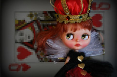 Blythe A Day ~ July 2014 ~ Day 19:  RED QUEEN
