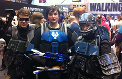 MCM Expo Manchester UK 2014 (ODST's!) (McCluckles) Tags: uk manchester comic expo cook july halo andrew con 19th mcm 2014 dft odst odsts