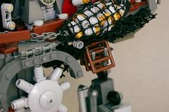 Ladder 1 (Brian. R.) Tags: walking star war punk lego diesel engine machine gear steam creation walker madness artillery wars build moc fbtb atin atap