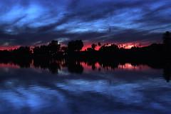 Parker Storm (photoaz) Tags: sunset arizona storm gimp coloradoriver parker
