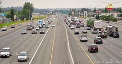 life in the city (Claudia Künkel) Tags: washington traffic i5 fife freeway tacoma