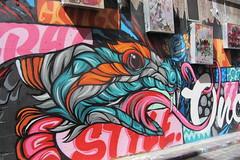 Walking around Melbourne (*~YY~*) Tags: streetart art graffiti australia melbourne victoria mel vic hosierlane melbournecbd