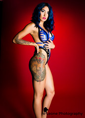 untitled-128-Edit.jpg (reLeone) Tags: blue tattoo studio potraits redbackground blacktape