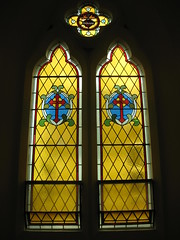 A Stained Glass Window in the Chapel of the Former Parade College - Victoria Parade, East Melbourne (raaen99) Tags: school window glass education catholic interior 19thcentury victorian australia melbourne chapel stainedglass victoria victoriana catholicchurch catholicism allegory 1850s stainedglasswindow ohm symbolism nineteenthcentury catholicschool 1879 gothicarchitecture churchwindow gothicrevival 1870s privateschool eastmelbourne gothicbuilding victoriaparade victoriangothic gothicstyle schoolbuilding theologicalcollege gothicrevivalarchitecture gothicrevivalstyle victoriapde victorianstainedglass chapelwindow williamwardell victoriangothicarchitecture catholiccollege victoriangothicstyle stainedglasschurchwindow gothicrevivalbuilding paradecollege williamwilkinsonwardell placeoflearning victorianacademicgothic victoriangothicbuilding wwwardell victorianstainedglasswindow placeofeducation openhousemelbourne placeofstudy catholictheologicalcollege victorianstainedglasschurchwindow eadesst eadesstreet
