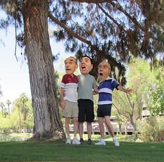August 2, 2014 (43/365+3) (gaymay) Tags: california trees gay portrait love happy desert palmsprings triad