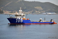 LAY VESSEL 108 imo 9673800 (2) (javier_cx9aaw) Tags: vessel 108 lay imo 9673800