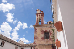 Church Bell Tower in Ronda, Spain (ChrisGoldNY) Tags: travel architecture bells canon buildings poster spain europa europe european forsale churches landmarks bluesky andalucia espana viajes ronda posters albumcover bookcover bookcovers albumcovers licensing churchbells sunspots chrisgoldny chrisgoldberg chrisgold chrisgoldphoto chrisgoldphotos