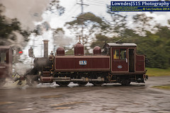 12A at Menzies Creek (LowndesJ515) Tags: rain 26 lakeside shuttle raining baldwin 262 steamtrain belgrave dandenongs infocus steamlocomotive menziescreek puffingbilly priarie 12a highquality panblur schoolrd naclass rpauvicnaclass rpauvicnaclass12a railpage:class=83 railpage:loco=12a 2foot6inches