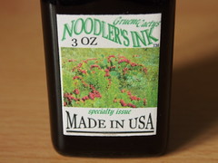 Noodler's Gruene Cactus - Close Up