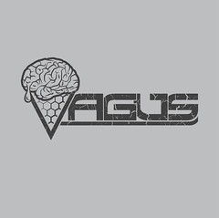 Vagus (samezzz) Tags: pink party music india logo design artwork melting flat graphic goa brain icecream illustrator lettering psychedelic custom vector trance psy logotype vagus smz