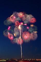 第29回神奈川新聞花火大会 The 29th Kanagawa Shinbun Fireworks Festival (ELCAN KE-7A) Tags: japan newspaper pentax fireworks 日本 yokohama kanagawa minatomirai 横浜 花火 神奈川 2014 みなとみらい 新聞 ペンタックス shinbun k5ⅱs