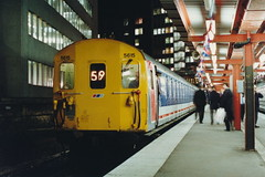 19900126 011 Holborn Viaduct. The Final Hours Before Closure. Class 415 4-EPB 5615 With 2U13, 18.04 to Crayford (15038) Tags: electric br trains emu disused railways britishrail holbornviaduct 5615 4epb class415 lostlines