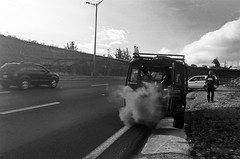 Smoke (The Frotographer) Tags: life vacation amigos travelling southamerica children quito ecuador shadows chiquitos working happiness nios spanish learning teaching castellano otavalo cascada baos latinomerica