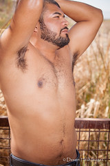 IMG_6907 (DesertHeatImages) Tags: gay shirtless portrait phoenix beard masculine az lgbt latino hispanic