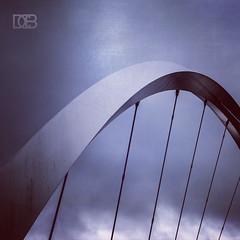 The Squinty (@CubePhotos) Tags: city bridge texture architecture modern photoshop scotland clyde nikon britain 5 glasgow arc scottish games british nikkor commonwealth lightroom squinty 2014 f3556 cs6 18105mm d7100 instagram