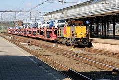 "DBS 6455 ""Klaas Abel"" met Pon-trein, Amersfoort (hemkes) Tags: train volkswagen rail railway zug db pon amersfoort dbs schenker gterzug leusden goederentrein"