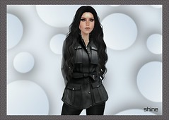 """shine by [ZD] - """"Penny"""" FitMesh Jacket (shine & sharp by [ZD]) Tags: life fashion by vintage demo for women shine dress place mesh market coat retro sl jacket dresses penny second marketplace mp boho mode jacke mantel frauen für kleidung kleid fitted weiblich zd womenswear inworld zddesign fitmesh"""
