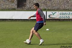 Control con el exterior de Jose Angel (Dawlad Ast) Tags: espaa angel club training de spain cd soccer jose asturias luanco estadio futbol miramar marino deportivo entrenamiento