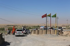 Irak Kurdistan Makmur Frontlinie 12.09.2014  img_7796 PKK (Thomas Rossi Rassloff) Tags: is al war islam iraq krieg east terror middle isis kurdistan irak qaida kurden pkk