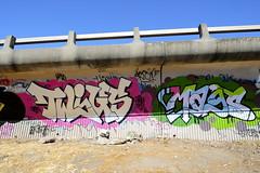 TWIGS, MAGS (STILSAYN) Tags: california graffiti oakland bay east area mags twigs 2014