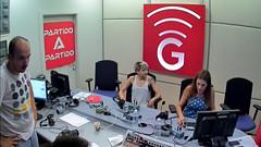 Angy en el programa de radio MorninGlory