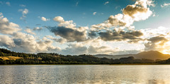 Lakeview (Nils Croes) Tags: sunset sky sun mountain lake mountains water sunshine clouds canon landscape scotland highlands cloudy highland loch lakeview lomond lochlomond 1740 sunscape lakescape 60d