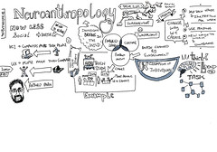 The Neuroanthropology of us - Steven Cox (CannedTuna) Tags: ux 20min stevecox sketchnote visualnote uxaustralia neuroanthropology