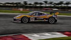 Sepang Ferarri 458 - 95 (Keith Mulcahy) Tags: cars racing malaysia 95 panning sepang motorsport 458 worldcars keithmulcahy september2014 asiagt blackcygnusphotography ppa7a0 ppd56c