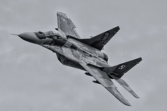 Polish AF MIG29 (Rami Khanna-Prade) Tags: military airshow militaire mig mig29 mikoyangurevich lsmp meetingaerien polishaf payerneairbase air14 militärflugplatzpayern baseaériennedepayerne air14payerne
