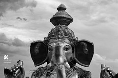 "Lord Ganesha Immersion Festival, Chennai • <a style=""font-size:0.8em;"" href=""http://www.flickr.com/photos/86056586@N00/15177200512/"" target=""_blank"">View on Flickr</a>"