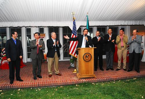 El Gobernador Guillermo Padrés participó en la conferencia de Gobernadores Fronterizos