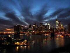 Sunset in Manhattan (Megahertz_Donut) Tags: nyc longexposure sunset newyork