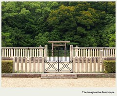 P3043  Saki-ishizukayama-kofun (The imaginative landscape) Tags: japan nara yamato tumulus imperialmausoleum  olympuspenep3  ealabo theimaginativelandscape fuwarysuke