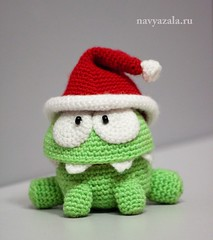 Om Nom from Cut The Rope (DolphinART) Tags: new baby game cute green kids toy candy handmade critter character year crochet cartoon adorable newyear plush gift hero kawaii amigurumi вязание игра зеленый год игрушка новый монстр новыйгод casuale конфета monstr герой персонаж omnom крючок амигуруми cuttherope мультяшный navyazala амням