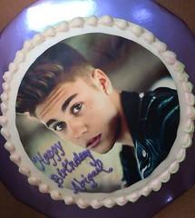 Justin Bieber cake by kathy, santa Cruz, CA, www.birthdaycakes4free.com
