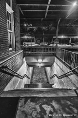 Abandoned Stairs (Kevin R. Burkitt) Tags: burlingtonnorthernandsantafe csx fujixpro2 leefilters manfrotto niksilverefexpro2 pennsylvania septa tankcars