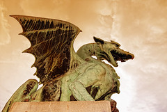 Dragon (Rickydavid) Tags: dragonbridge ljubljana drago gamesofthrones