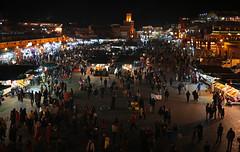 Djemaa el Fna (vil.sandi) Tags: djemaaelfna marrakeshsmedinaquarter jamaaelfna nightmarket marocco